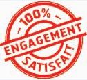 engagement 100% satisfait